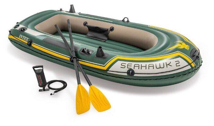 Надувная лодка Intex Seahawk-200 (68347)