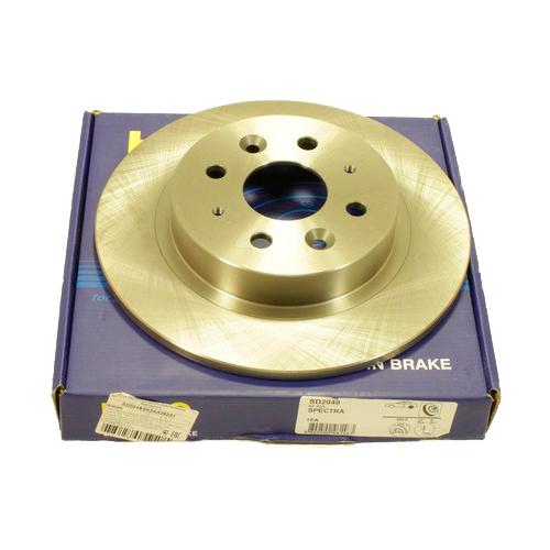 Комплект тормозных дисков задний SANGSIN BRAKE SD2049 260x10 для Kia Shuma (2 шт.) комплект тормозных тросов jagwire road pro brake kit с рубашкой заглушками черный pck200