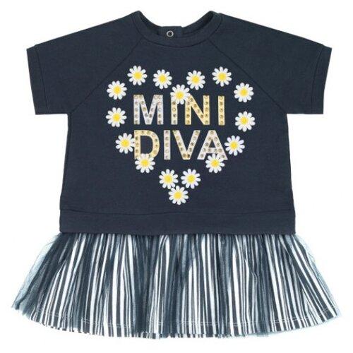 Купить Платье Pixo Camolita размер 74, темно-синий, Платья и юбки