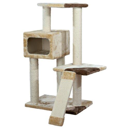 Игровой комплекс TRIXIE Almera 59 х 39 х 106 см бежевый/коричневый переноска для животных marchioro cayman 1 цвет бежевый коричневый 50 х 33 х 32 см