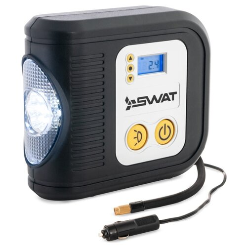 Автомобильный компрессор SWAT SWT-412 черный/серебристый компрессор demark dm 2550