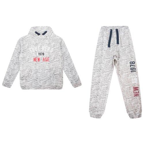 Купить Комплект одежды Fresh style размер 98, серый, Комплекты и форма