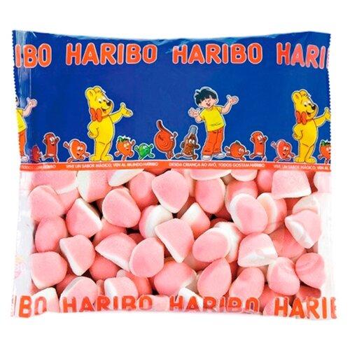Жевательный мармелад Haribo Клубника со сливками, 1 кг