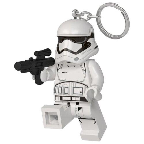 Брелок-фонарик LEGO LGL-KE130, белый брелок фонарик lego lgl ke65 красный