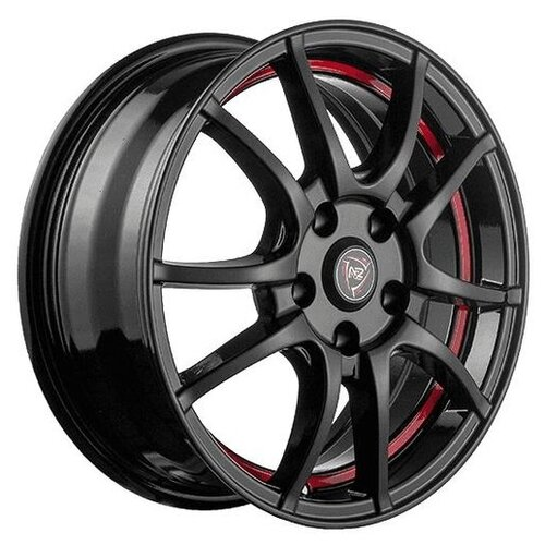 Фото - Колесный диск NZ Wheels F-43 6x15/4x100 D60.1 ET50 BKRSI колесный диск nz wheels f 50 6x15 4x100 d60 1 et50 w b