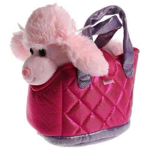 Мягкая игрушка Мой питомец Собака в сумочке 15 см