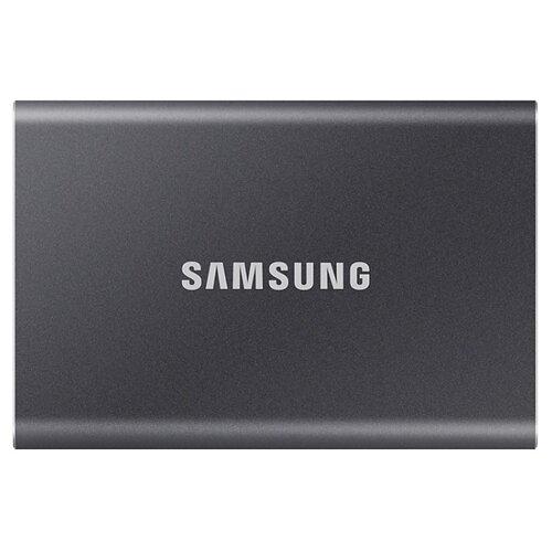Внешний SSD Samsung Portable SSD T7 500 ГБ серый
