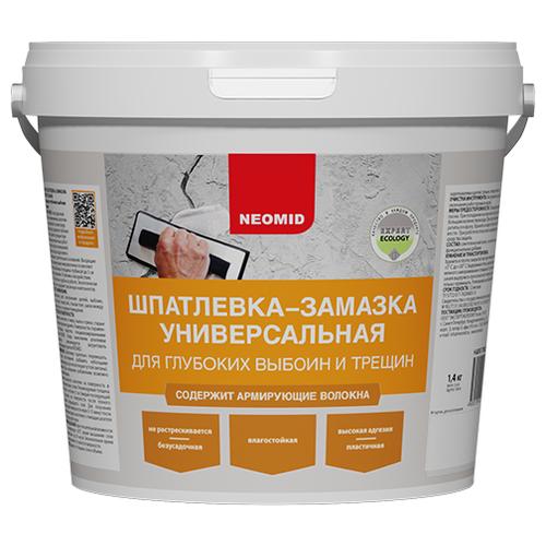 Шпатлевка NEOMID универсальная, светло-серый, 1.4 кг
