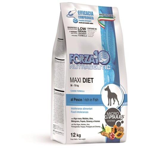 Сухой корм для собак Forza10 Diet рыба 12 кг (для крупных пород)