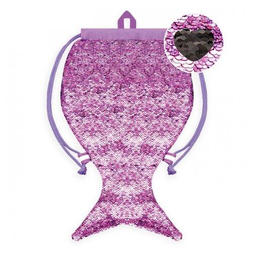 Феникс+ Мешок для сменной обуви (48815/48816/48817/48818/48819) фиолетовый/черный феникс мешок для обуви скейт