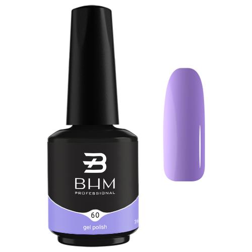 Гель-лак для ногтей BHM Professional Gel Polish, 7 мл, №060 Sweet lilac гель лак для ногтей bhm professional gel polish 7 мл 035 fashion violet