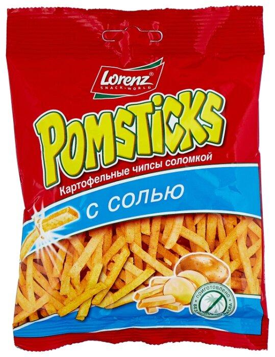 Картофельная соломка Lorenz Pomsticks с солью 40 г