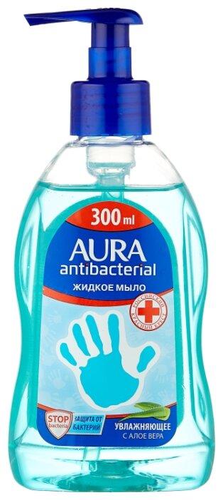 Мыло жидкое Aura увлажняющее с Алоэ Вера