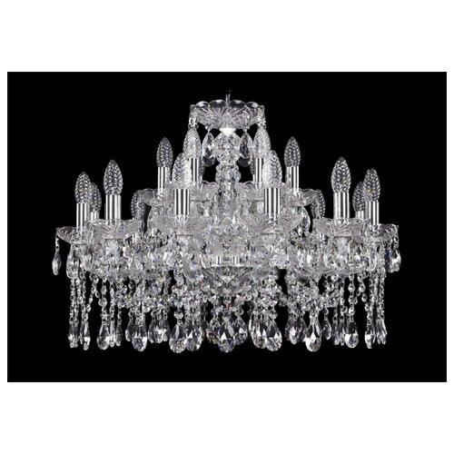 Фото - Люстра Bohemia Ivele Crystal 1413 1413/12+6/220/Ni, E14, 720 Вт люстра bohemia ivele crystal 1413 18 400 g e14 720 вт