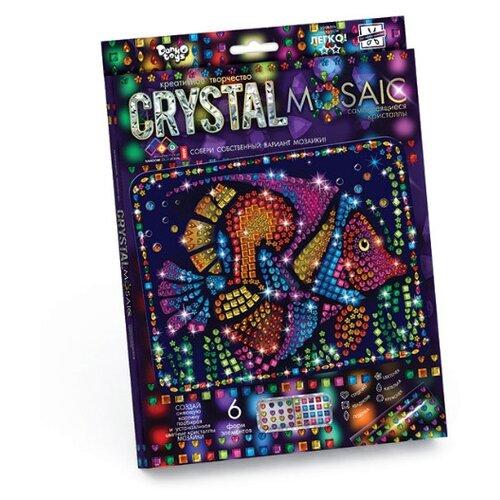 Купить Danko Toys Набор алмазной вышивки Crystal Mosaic Рыбка (CRM-01-09), Алмазная вышивка