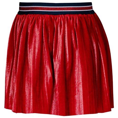 Юбка Gulliver размер 104, красный футболка gulliver размер 104 красный