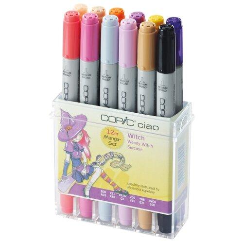 Купить COPIC набор маркеров Ciao Witch (H22075713), 12 шт., Фломастеры и маркеры