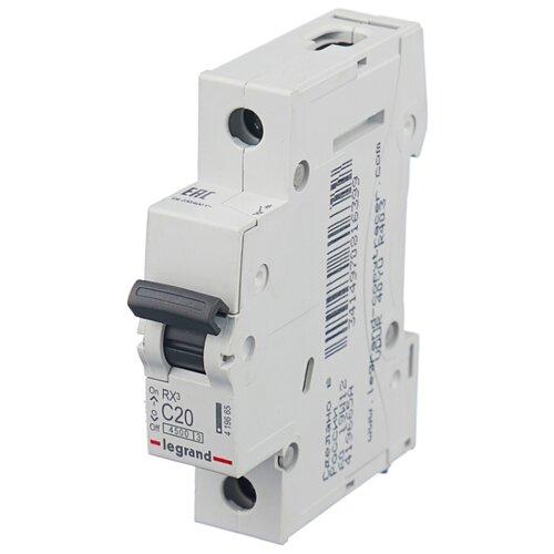 Автоматический выключатель Legrand RX3 1P (C) 4,5kA 63 А автомат legrand rx3 419669 1p 50 а тип c 4 5 ка 230 в на din рейку