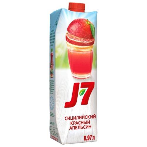 Нектар J7 Красный апельсин-Апельсин-Черная морковь, с крышкой, 0.97 л цена 2017
