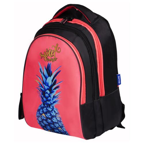 Купить Berlingo рюкзак inStyle Pineapple, черный/розовый, Рюкзаки, ранцы