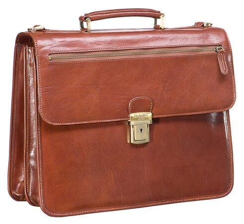 Портфель для мужчин Dr.Koffer P402418, натуральная кожа