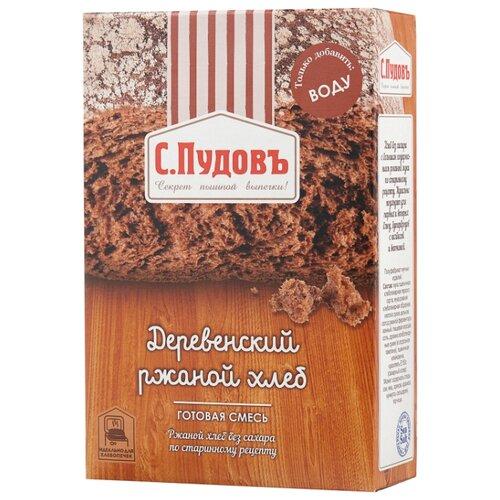 С.Пудовъ Смесь для выпечки хлеба Деревенский ржаной хлеб, 0.5 кг фото