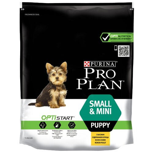 Корм для собак Purina Pro Plan (0.7 кг) Small & Mini Puppy сanine Chicken with Rice dryКорма для собак<br>