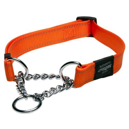 Ошейник-удавка Rogz Utility L (HC06) 34-56 см оранжевый