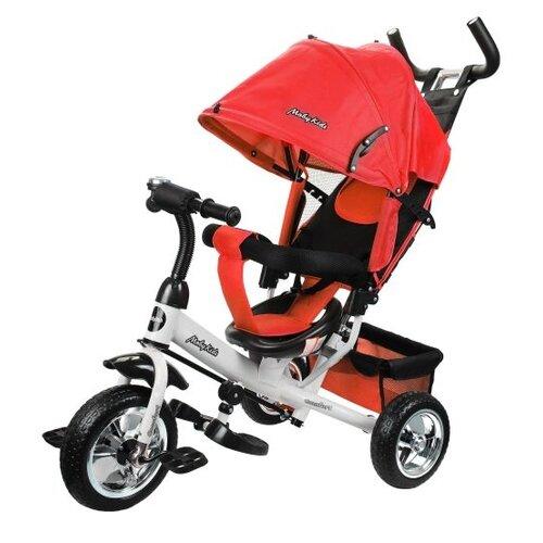 Купить Трехколесный велосипед Moby Kids Comfort 10x8 EVA красный, Трехколесные велосипеды