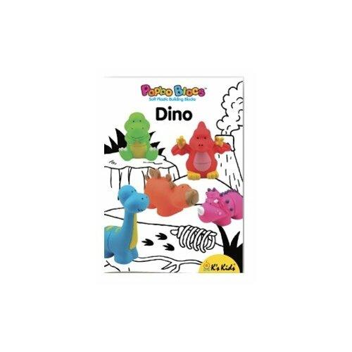 Конструктор K's Kids Popbo Blocks KA10726 Динозавры