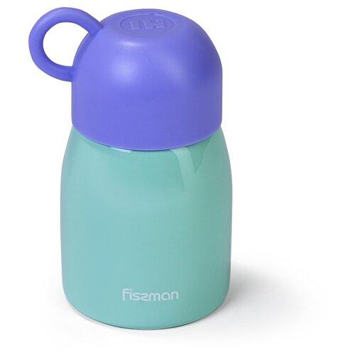 Классический термос Fissman 9764, 0.3 л голубой