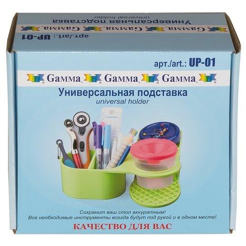Купить Gamma Универсальная подставка UP-01 21x19.5x7 см зеленый, Инструменты и аксессуары