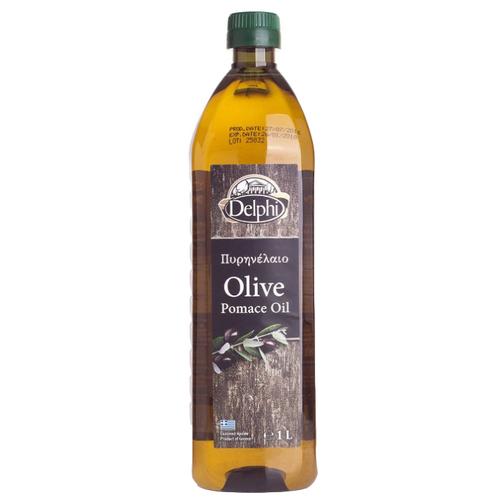 DELPHI Масло оливковое Pomace, пластиковая бутылка 1 л