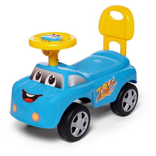 Купить Каталка-толокар Baby Care Dreamcar (618А) голубой, Каталки и качалки