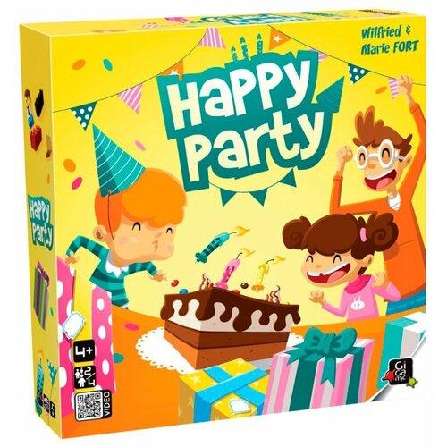 Настольная игра Gigamic HAPPY PARTY gigamic настольная игра quixo mini