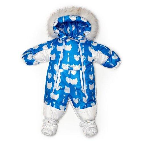 Фото - Комбинезон-трансформер MaLeK BaBy 145шм/2 размер 74, коты на голубом + белый комбинезон malek baby malek baby