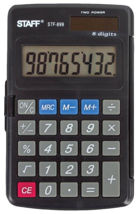 Калькулятор карманный STAFF STF-899