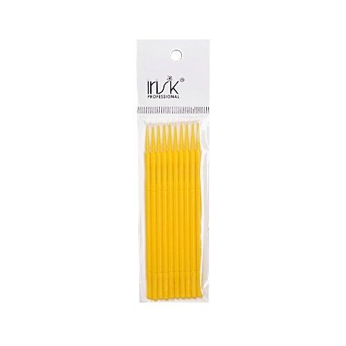 Irisk Professional Микрощеточки в пакете, L, 10 шт. желтый