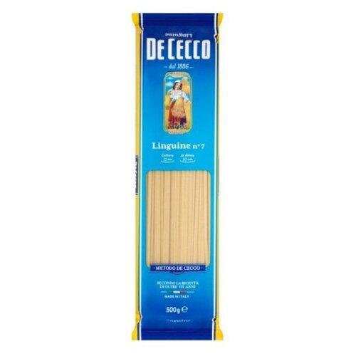 deluca макароны linguine с De Cecco Макароны Linguine n° 7, 500 г