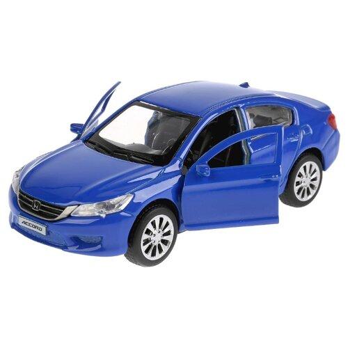 Легковой автомобиль ТЕХНОПАРК Honda Accord (ACCORD-BU/GY/RD) 12 см синий автомобильные держатели и подставки honda accord
