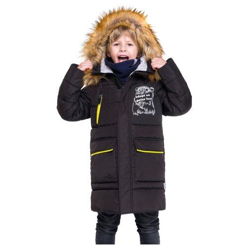 Пальто BOOM! by Orby размер 110, черный фото