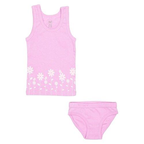 Купить Комплект нижнего белья RuZ Kids размер 116-122, лиловый, Белье и купальники