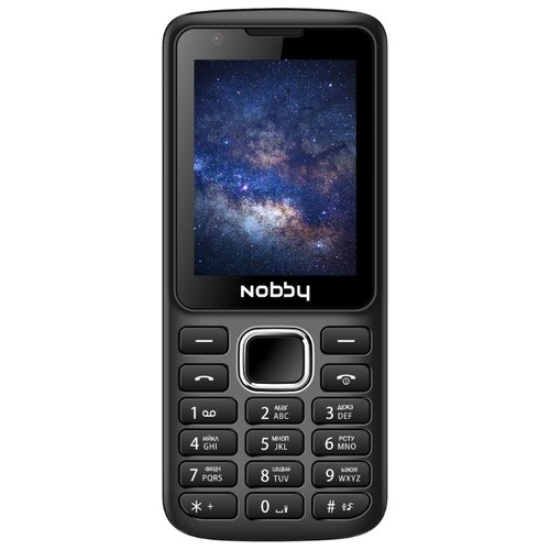 Телефон Nobby 230 черный (NBC-BP-24-32)