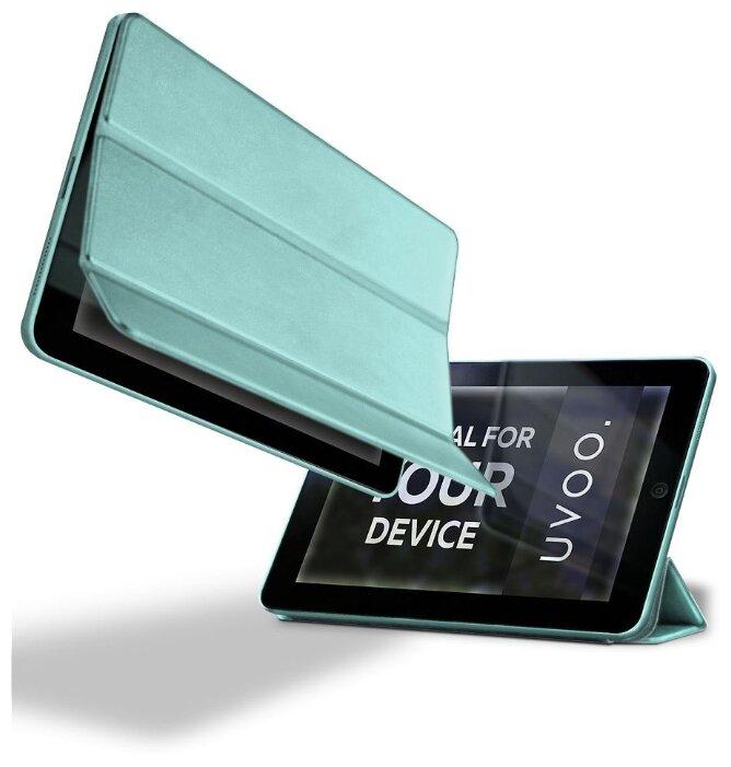 Купить Чехол для планшета. Apple iPad 2 / 3 / 4. Искусственная кожа. Jack. Бирюзовый по низкой цене с доставкой из Яндекс.Маркета