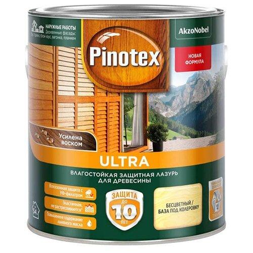 Водозащитная пропитка Pinotex Ultra бесцветный 2.7 л