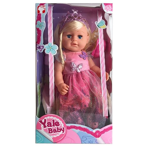 Пупс Oubaoloon Yale Baby, 45 см, BLS006A пупс oubaoloon 20 см 3612b