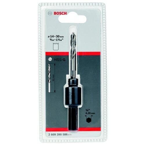 Адаптер для коронок BOSCH 2609390586 14-30 мм адаптер для коронок bosch 2609390034 32 210мм