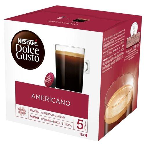 Кофе в капсулах Nescafe Dolce Gusto Americano (16 капс.) nescafe dolce gusto кофе о ле кофе в капсулах 16 шт