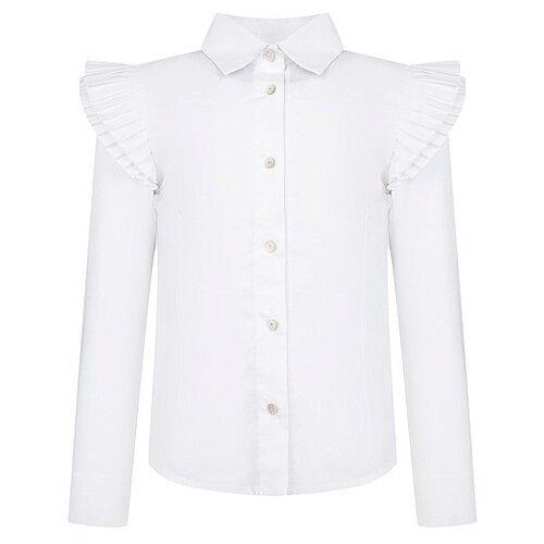 Блузка Lapin House размер 122, белый