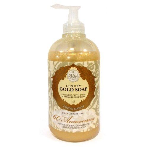 Купить Мыло жидкое Nesti Dante Luxury Gold, 500 мл